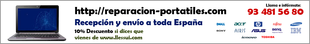 reparar portátiles barcelona