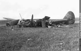 Aviones Alemanes Caídos en la II Guerra Mundial